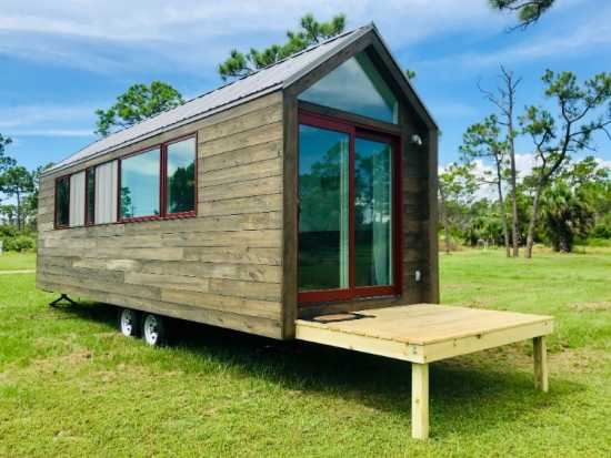 Modern Tiny Home, THOW, RV