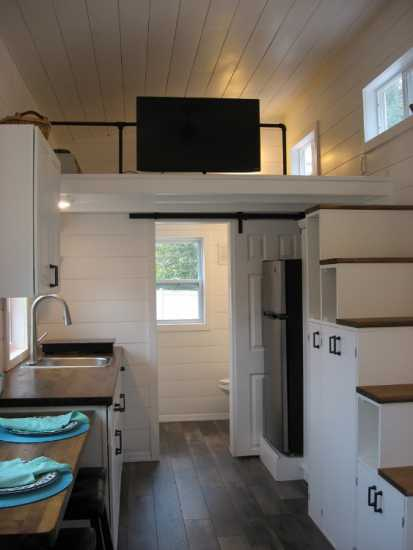 Butcher Block Kitchen Hutch : New Jersey : The Inspiration, New Tiny House : THOW for sale