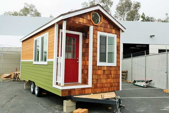 CUSTOM 9 X 22 NW BUNGALOW TINY HOUSE FULL BATHROOM
