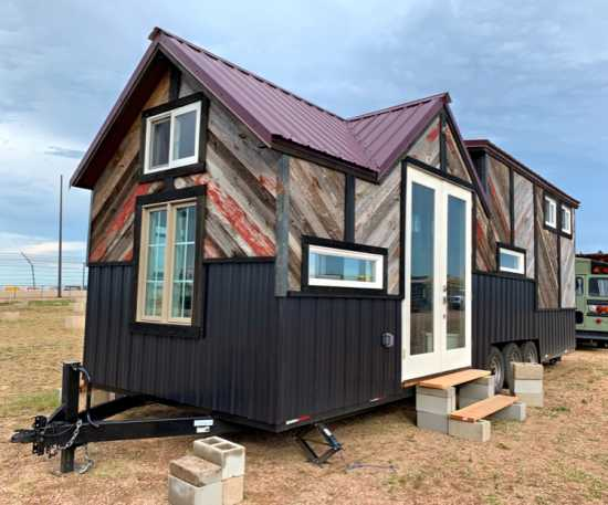 Barnwood Exterior Tiny Home