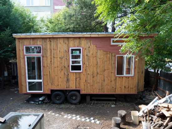 Luxury Tiny Home on Wheels by Peewee's Tiny Homes